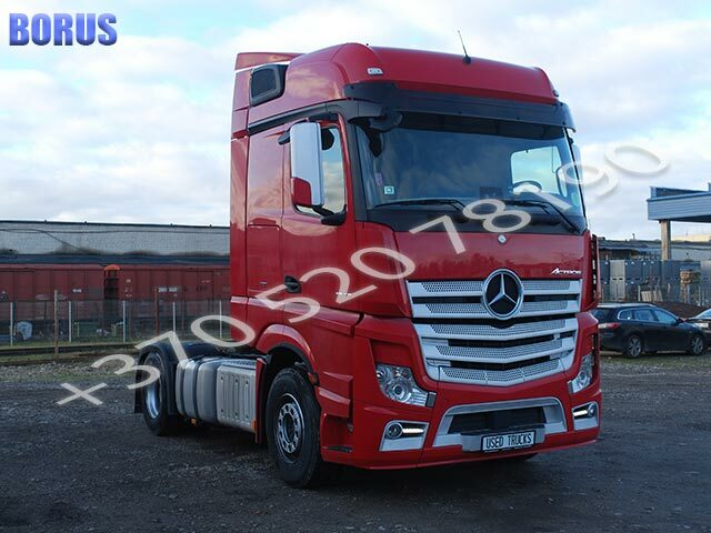 "<span style=""font-weight: bold;"">MERCEDES-BENZ ACTROS</span>&nbsp;"